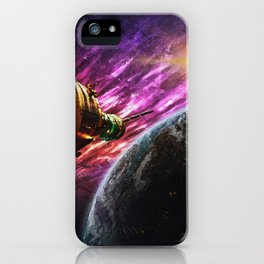 Spaceship iPhone Case