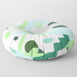 Minty Floor Pillow