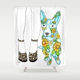 Maggie 'n Me Shower Curtain