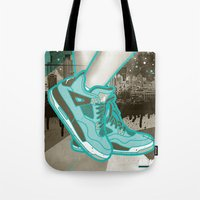 air jordan Tote Bags featuring Air Jordan IV by Maurice Creative