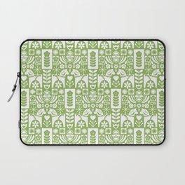 Swedish Folk Art - Greenery Laptop Sleeve