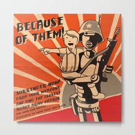 Propaganda Series Metal Print
