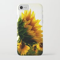 sunflower iPhone & iPod Cases featuring Sunflower by 2sweet4words Designs