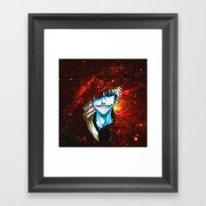 hollow Ichigo Kurosaki Framed Art Print
