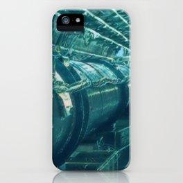 Switzerland Cern Large Hadron Collider Artistic Illustration Under Water Style iPhone Case
