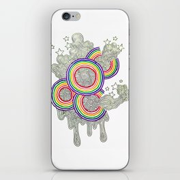 Bursting With Color iPhone Skin
