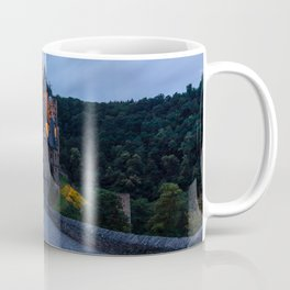 Photos Germany Burg Eltz castle Roads Forests Evening Cities Castles forest Coffee Mug