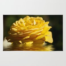 Yellow Rose Flood Rug