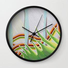 Sushi grass Wall Clock