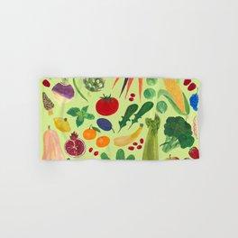 Fruits and Veggies Hand & Bath Towel