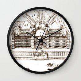Castle old vintage Wall Clock