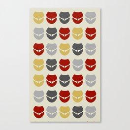 Retro Tulipa 2 Canvas Print