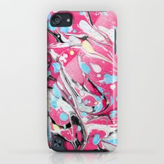 Abstract Painting ; Pink & Red Acrylic Slim Case iPod touch