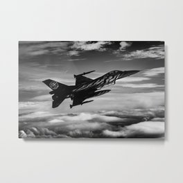Shadow Tiger Metal Print