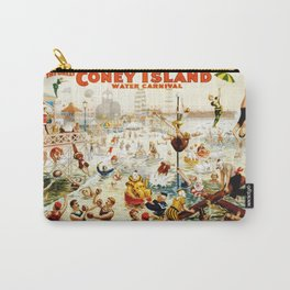 Coney Island Carnival Vintage Carry-All Pouch