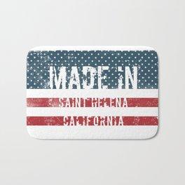 Made in Saint Helena, California Bath Mat