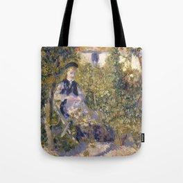 Nini in the Garden Tote Bag