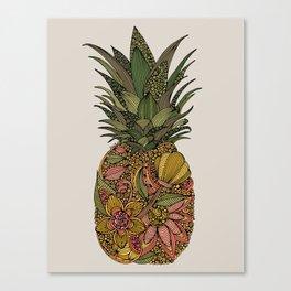 Pineappleflower Canvas Print