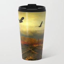 Flight Of The Blackbirds Travel Mug