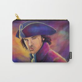 Captain Poldark Painting with bright colors Carry-All Pouch