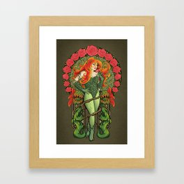 Pretty Poison Framed Art Print