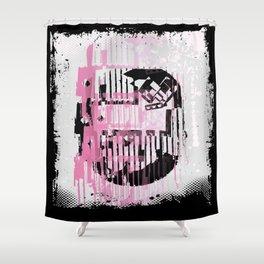 ODD MIKEY Stuff - Pinked & Inked Shower Curtain