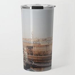 Prague Cityscape Travel Mug