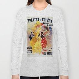 1897 Carnaval Ball Paris Opera Long Sleeve T-shirt