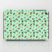 yorkie iPad Cases featuring Yorkie Pattern by Bark Point Studio