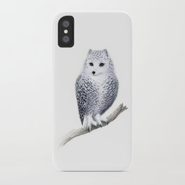 Snowy Fowl iPhone Case
