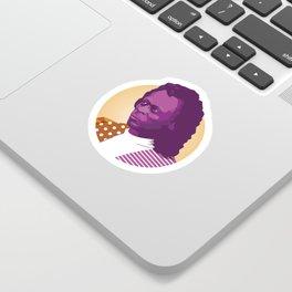 Jazz legend Sticker