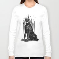 doberman Long Sleeve T-shirts featuring DOBERMAN by ADAMLAWLESS