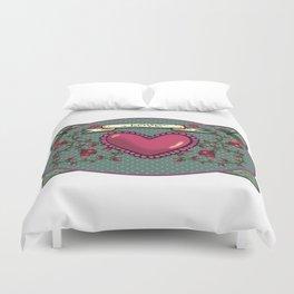love  and heart Duvet Cover