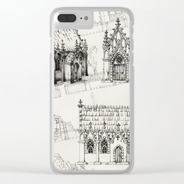 Concept Gothic Chapel Clear iPhone Case