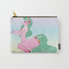 Pretty Little Pink Centaur Carry-All Pouch
