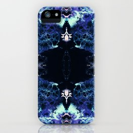 Nashira - Abstract Costellation Painting iPhone Case