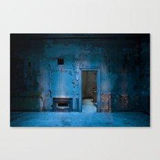 Blue Bank Canvas Print