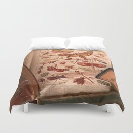 Vintage Insects 2 Duvet Cover