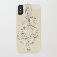 yoga iPhone & iPod Cases featuring Yoga by Timoismen