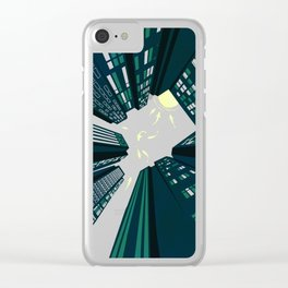 Solitary Dream Clear iPhone Case