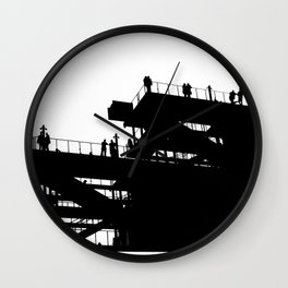 Whitney Museum NYC Wall Clock