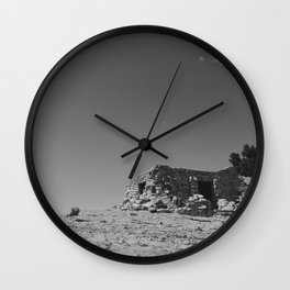 """A Castle On Sandia"" Wall Clock"