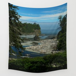 Morning At The Seaside Wall Tapestry