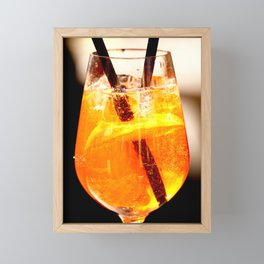 Cheers! Cocktail Drink #decor #society6 Framed Mini Art Print