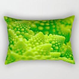 Macro Romanesco Broccoli Rectangular Pillow