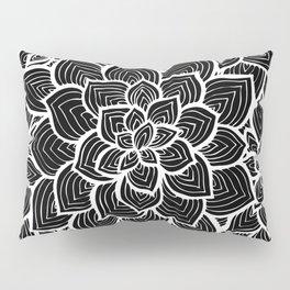 Flowers - Lines Pillow Sham