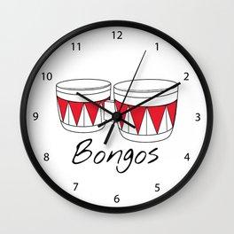 Bongos Wall Clock