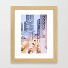 Pastel Nights Framed Art Print