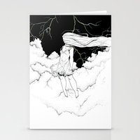 storm Stationery Cards featuring Storm by  Louie