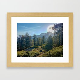 Desolate Sunrise Framed Art Print